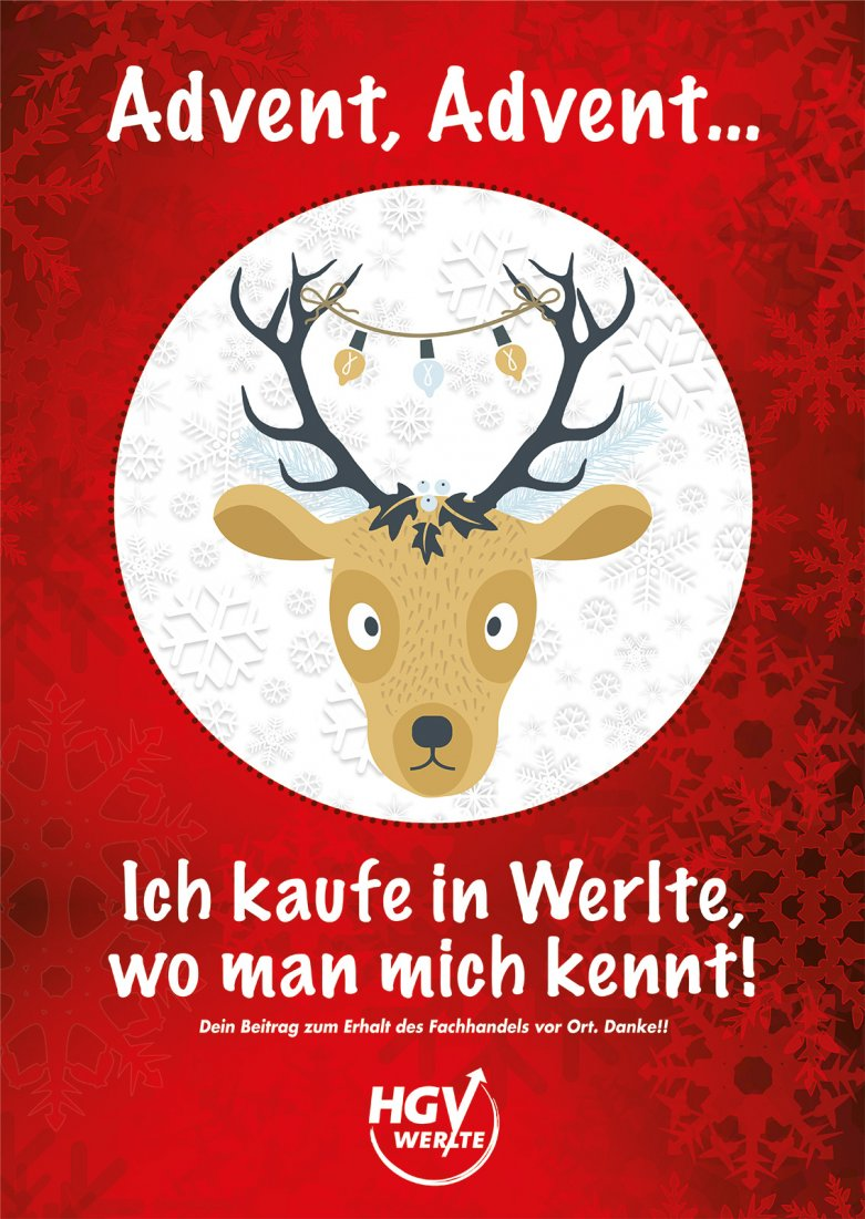 Plakat Advent Advent 2020